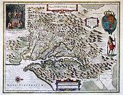 Virginia 1612 map