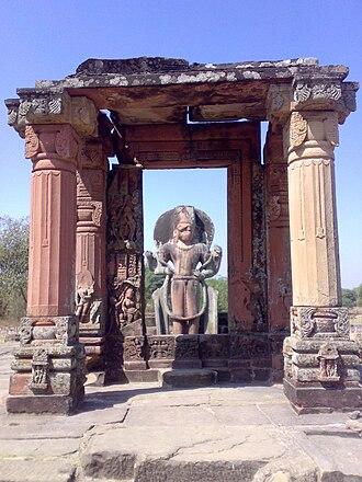 Eran - Mandapa of the Vishnu Temple at Eran