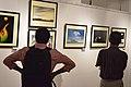 Visitors - Group Exhibition - PAD - Kolkata 2016-07-29 5487.JPG