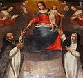 Visseiche (35) Église Retable du Rosaire 02.JPG