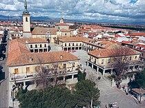 Vista aérea Plaza Mayor de Brunete.jpg