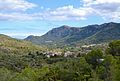 Vista de la Vall de Gallinera amb la Carroja en primer pla.JPG