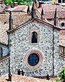 Vista della Basilica di San Colombano dal Castello Malaspina Dal Verme.jpg