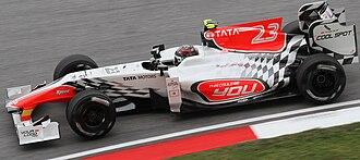 Hispania F110 - Image: Vitantonio Liuzzi 2011 Malaysia FP1