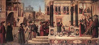 The Daughter of of Emperor Gordian is Exorcised by St Triphun