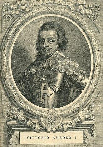 Francesco Maria Ferrero di Lavriano - Ferrero di Lavriano's portrait of his contemporary, Victor Amadeus II.