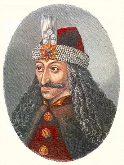 Vlad Tepes coloured drawing