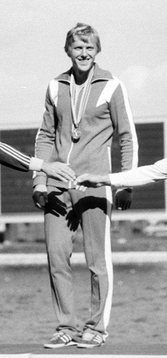 Vladimir Parfenovich - Parfenovich at the 1980 Olympics