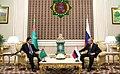 Vladimir Putin and Gurbanguly Berdimuhamedow (2017-10-02) 06.jpg