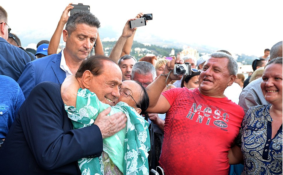 Vladimir Putin and Silvio Berlusconi in Crimea (2015-09-11) 08