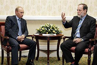 De Beers - Russian president Vladimir Putin meeting former De Beers chairman Nicky Oppenheimer in South Africa in 2006