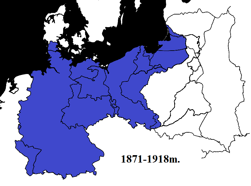 Vokietija 1871-1918m