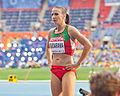 Volha Sudarava (2013 World Championships in Athletics) 01.jpg