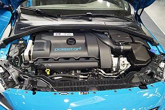 Volvo SI6 engine - Image: Volvo S60 Polestar T6 3.0l V6 turbo (MSP16)