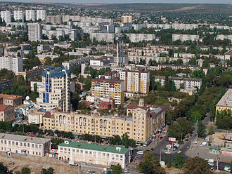 Volgograd Oblast - Image: Voroshilovskiy district of Volgograd 001
