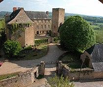 Vue générale du chateau de cavagnac.jpg
