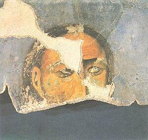 Vukan Nemanjić - The fresco of Vukan I, Studenica Monastery