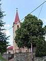 Vyšný Klátov Farský kostol Najsvätejšej Trojice 1.jpg