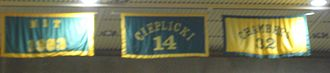 William & Mary Tribe men's basketball - Banners honoring the 1983 NIT berth, Keith Cieplicki, Bill Chambers