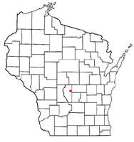 Location of Richfield, Wisconsin