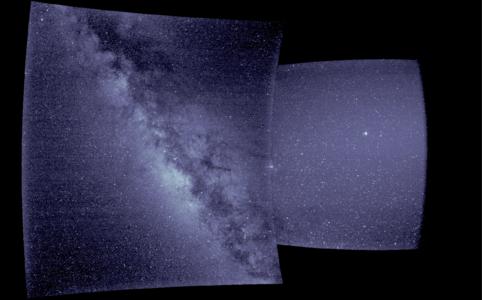 WISPR first light image