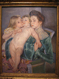 WLA amart The Caress 1902 Mary Cassatt.jpg