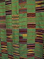 WLA haa Kente Cloth Probably Ewe Ghana c 1986.jpg