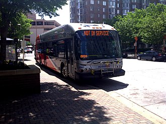 Washington Metropolitan Area Transit Authority - Image: WMATA Metrobus 6567