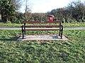 W G Hoskins memorial seat - geograph.org.uk - 1192523.jpg