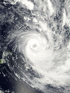 Cyclone Waka Category 4 South Pacific cyclone in 2001 and 2002