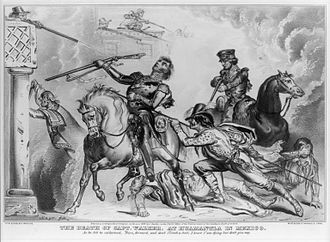 Battle of Huamantla - The death of Capt. Walker