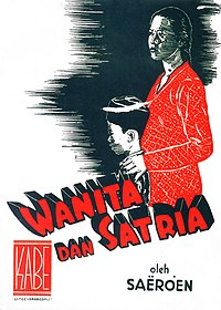 Cover of Wanita dan Satria novelisation