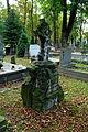 Warszawa Reduta Wolska - cmentarz prawosławny - nagrobek z 1894 roku.JPG