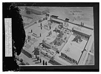 Wash drawings of Temple area, mosque grounds in Jerusalem LOC matpc.08636.jpg