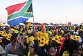 Watching South Africa & France match at World Cup 2010-06-22 in Soweto 12.jpg