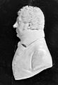 Wax plaque; relief profile of Edward Jenner. Wellcome M0006973.jpg
