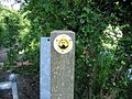 Waymarker for the Saxon Shore Way - geograph.org.uk - 455804.jpg