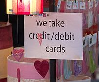 An example of street markets accepting credit cards