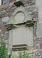 Weathered memorial, All Saints Church, Longhope - geograph.org.uk - 487159.jpg