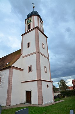 evang.-luth. Kirche St. Moritz in Wechingen