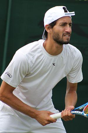 Amir Weintraub - Weintraub at the 2015 Wimbledon Championships
