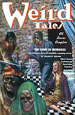 Weird Tales cover image for February 1937