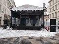 Welcome to Budapest Christmas Fair stage, VörösmartySquare, 2019 Lipótváros.jpg