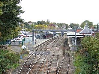 Wellington railway station (Shropshire) - Image: Wellington Railway Station 2