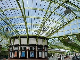Wemyss Bay railway station - Interior of the railway station