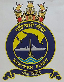 Western Fleet (India) Military unit