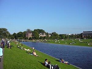 Westerpark (park) - Image: Westerpark zomer