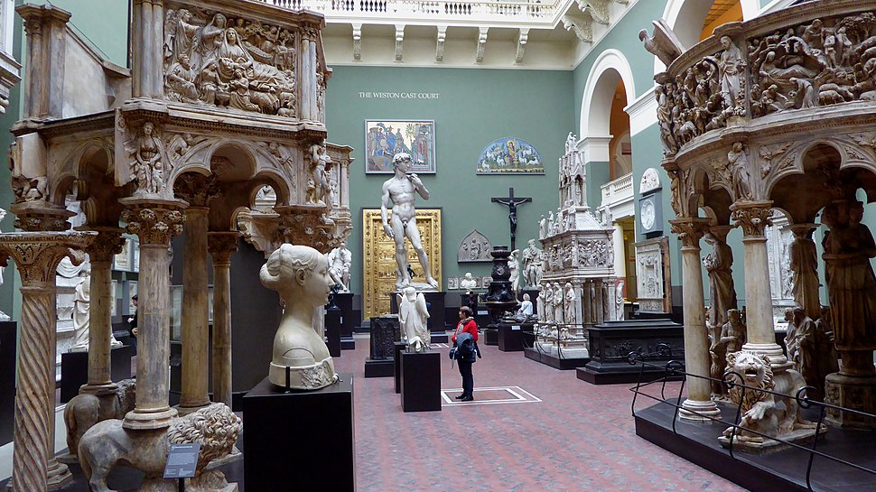 Weston Cast Court in the Victoria and Albert Museum