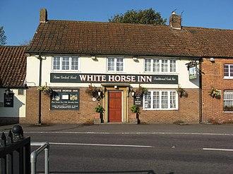 Mark, Somerset - Image: White Horse Inn, Mark geograph.org.uk 577994