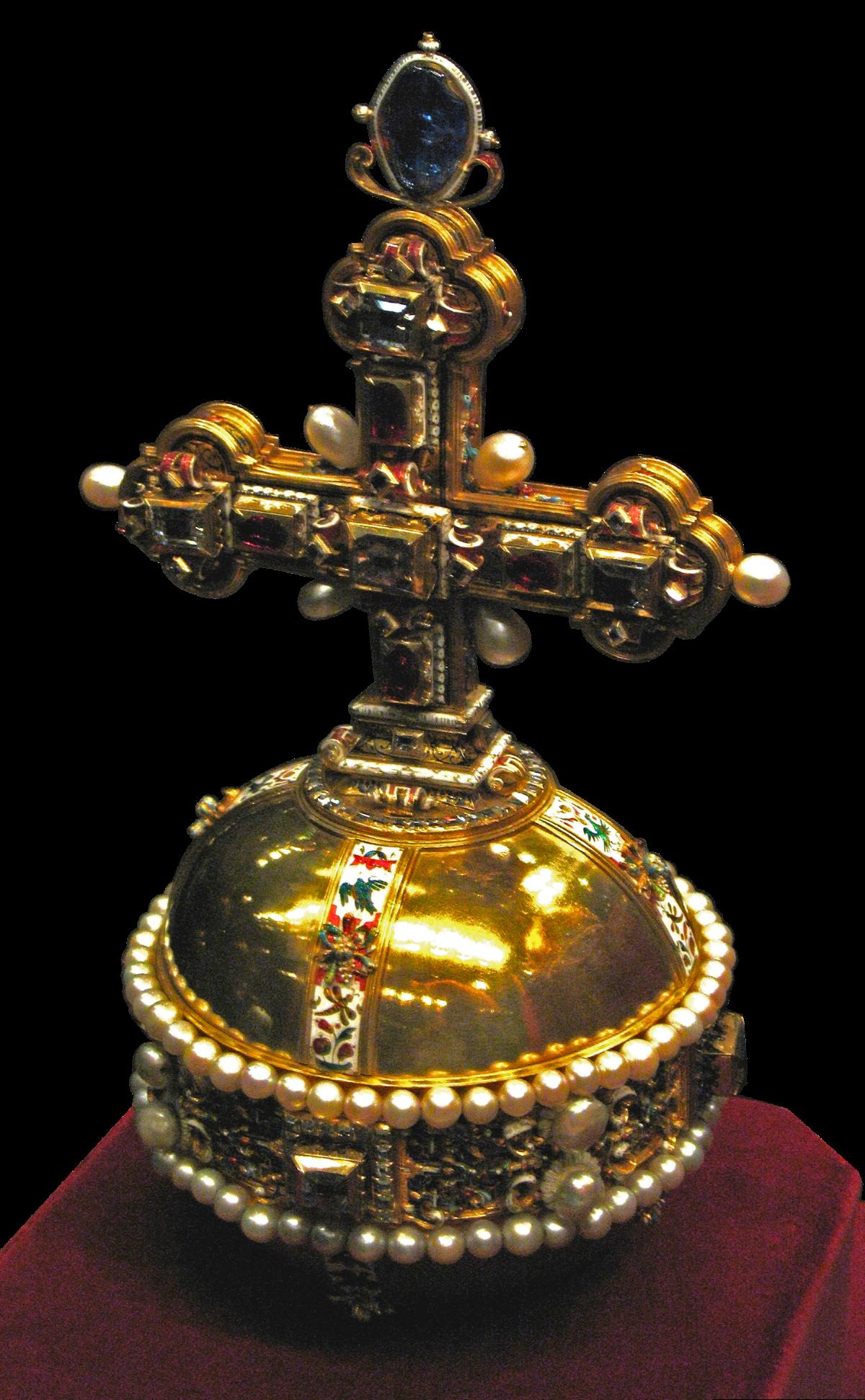 globus cruciger - Wiktionary